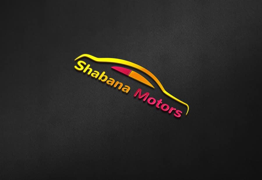 Kilpailutyö #30 kilpailussa Design a Logo for Shabana Motors