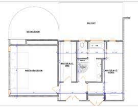 nº 86 pour Redesign  the floor plan of master suite for a better flow par dennisDW