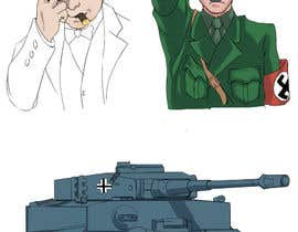 #56 para Historical figures drawn in anime or manga style art. por kjaducana