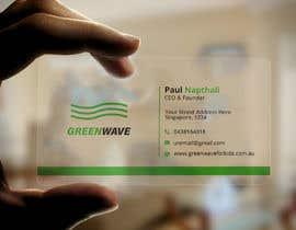 Nro 320 kilpailuun design business card käyttäjältä tomalmahmud888