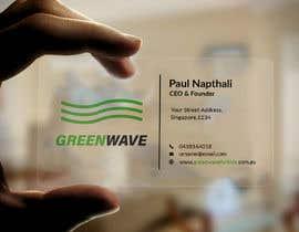 Nro 216 kilpailuun design business card käyttäjältä sheikhsaifullah1