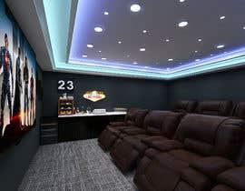 #27 для Home Cinema Design (2 different design options) от Shuhadh