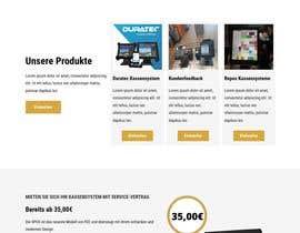 nº 42 pour Create a new web design par fontEndDesign