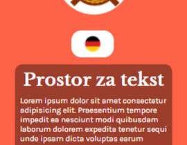 Nro 23 kilpailuun Design 6 custom frontend HTML pages based on given look (design) käyttäjältä arpanbiswas4847