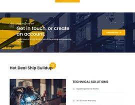 Nro 44 kilpailuun Corporate website käyttäjältä itkhabir