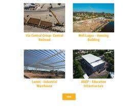 Nro 62 kilpailuun Corporate website käyttäjältä akashxd121