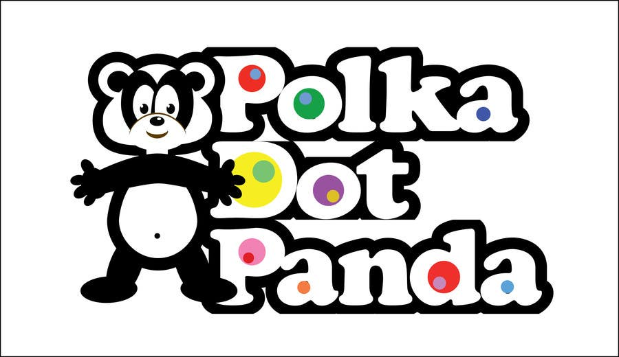 #82 for Design a Logo for a new children's clothes website - Polka Dot Panda by stanbaker
