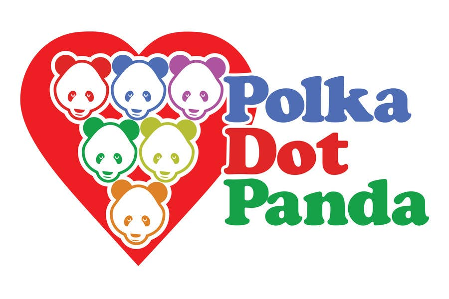 #88 for Design a Logo for a new children's clothes website - Polka Dot Panda by stanbaker