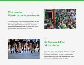 Nro 9 kilpailuun St Patrick's Day home page website design käyttäjältä JegorBabak