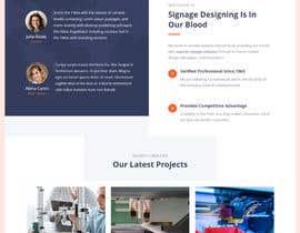 Nro 2 kilpailuun St Patrick's Day home page website design käyttäjältä sharifkaiser