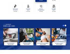 Nro 122 kilpailuun Website Design for Attorney käyttäjältä adthedesigner