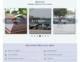 Nro 127 kilpailuun Website Design for Attorney käyttäjältä kamrulgdr