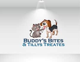 #82 for Create a logo for a dog & cat treat business by ahalimat46