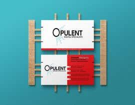 #388 for Business Card Design For Opulent af muktaderulislam