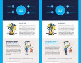 nº 25 pour Create a landing page - 16/09/2021 01:04 EDT par saidesigner87