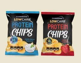 Nro 255 kilpailuun Design a Low Carb High Protein Chips Bag käyttäjältä lilymakh