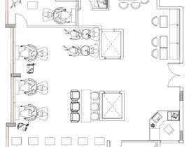 nº 22 pour Beauty Salon interior layout & furniture plan by autocad par angelikasung