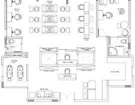 nº 9 pour Beauty Salon interior layout & furniture plan by autocad par katherinevania