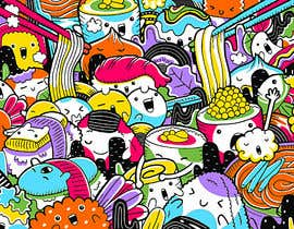 #5 for Kawaii Anime Sushi Food Banner Needed HIgh res by hectorver