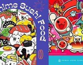 #3 for Kawaii Anime Sushi Food Banner Needed HIgh res by shazlishahid91