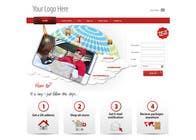 Website Design is needed for a parcel forwarding business in the uk için Graphic Design5 No.lu Yarışma Girdisi