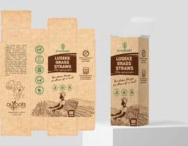 #24 for Packaging design contest for two different eco-friendly straws af AlbinaNova