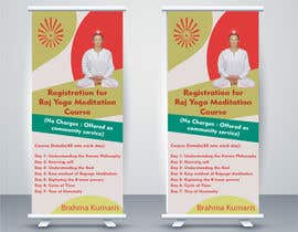 #3 for Standee design for meditation course registration by ShivamPancholi