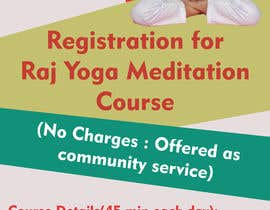 #5 for Standee design for meditation course registration by ShivamPancholi