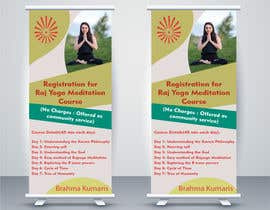 #17 for Standee design for meditation course registration by ShivamPancholi