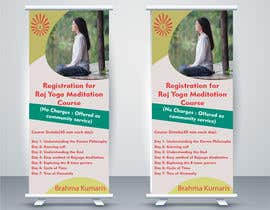 #20 for Standee design for meditation course registration by ShivamPancholi