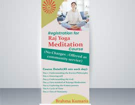#21 for Standee design for meditation course registration by ShivamPancholi