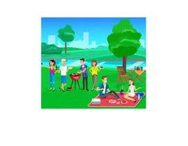 #16 для I need a Cartoon gif with 7 persons от saiful1818
