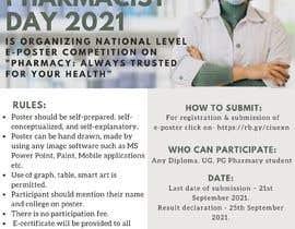 #19 untuk Create a poster for 'World Pharmacist Day 2021' oleh adammarve90