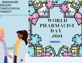 #6 untuk Create a poster for 'World Pharmacist Day 2021' oleh tasnimrashid009