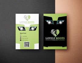 Nro 865 kilpailuun Business Card Design for Hair Company käyttäjältä Robindesigne