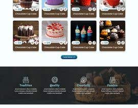 #126 cho Cupcake Company Responsive Website Template bởi mjmarazbd