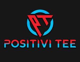 Nro 208 kilpailuun PositiviTee - logo design käyttäjältä jahidgazi786jg