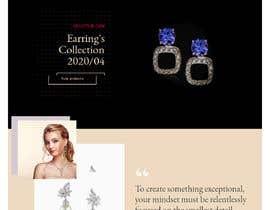 nº 74 pour Design a website for selling rare gemstones and expensive jewelry par devendarthapa