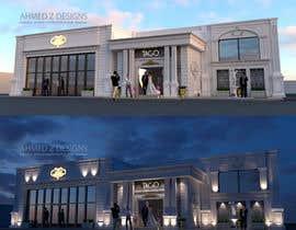 Nro 14 kilpailuun Graphic rendering for the facade - Ballroom käyttäjältä ahmedzaghloul89
