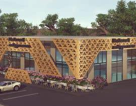 nº 25 pour Facade building - RESTAURANT par Amnathamer