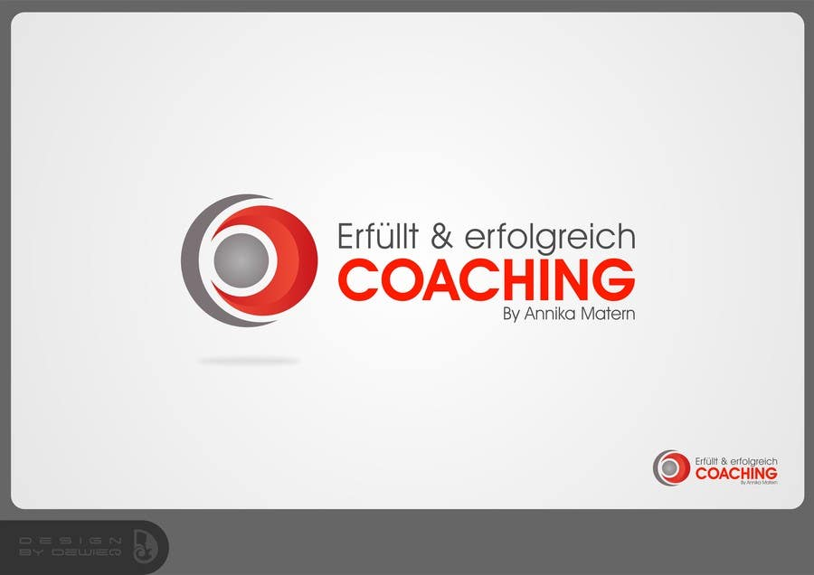 "#50 for Design a Logo ""Erfüllt & erfolgreich Coaching"" !Please read the text by Dewieq"