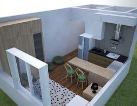 #67 for Floorplan for small studio af EKRAMUL825