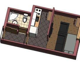 #71 for Floorplan for small studio af Sheriff81