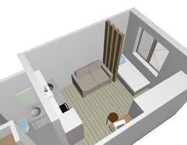 #54 for Floorplan for small studio af AnciiBananci