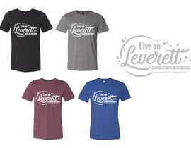 nº 549 pour Live on Leverett Tee Vintage Concert shirt design par Summerkay