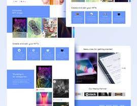 #11 for Design UX UI for NFT Marketplace af abfaruki
