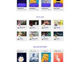 #24 for Design UX UI for NFT Marketplace af freelancersagora