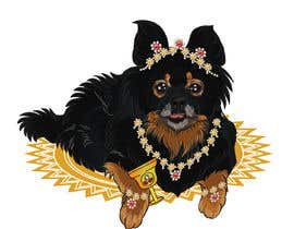 #241 cho Graphic design of a female dog character, with a royalty theme, which will be used as a large graphic on a t-shirt. bởi ashvinirudrake13