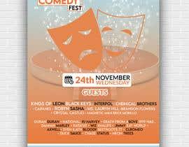 #19 para Poster for a Stand-Up Comedy Festival por Najmur