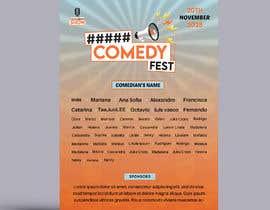 #17 para Poster for a Stand-Up Comedy Festival por emtiaznasim24